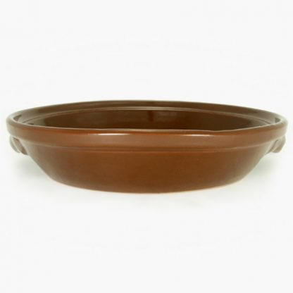 "Bram 10½"" Round Gratin - Brown"