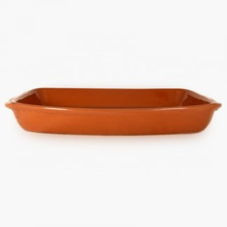 "14"" x 9½"" Rectangular Baker - Spanish Red"