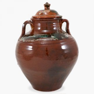 Bram 10 quart Bean Pot - Drip Glaze