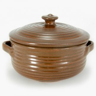 Round Covered Casseroles