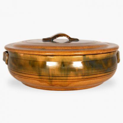 Bram 6½ quart Round Covered Casserole - Honey Assalie