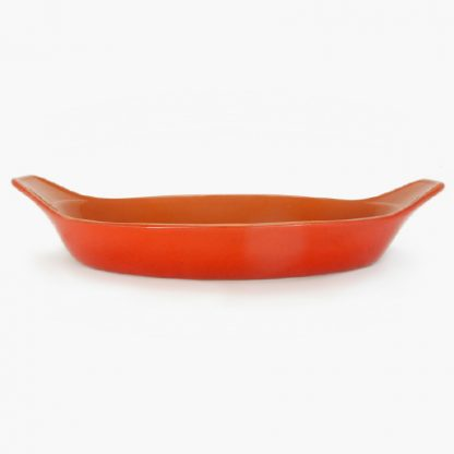 "Vulcania 15½"" x 10½"" Oval Baker - Red"
