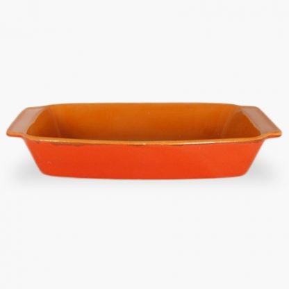 "Vulcania 12½"" x 7½"" Rectangular Baker - Red"