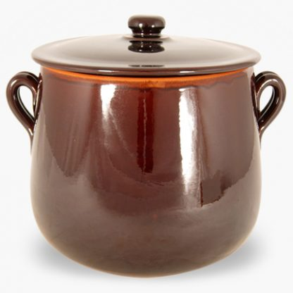 Vulcania 7½ quart Soup/Stew Pot - Brown