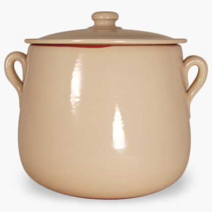 Vulcania 7½ quart Soup/Stew Pot - Cream