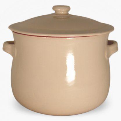 Vulcania 10 quart Soup/Stew Pot - Cream
