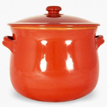 Vulcania 10 quart Soup/Stew Pot - Red