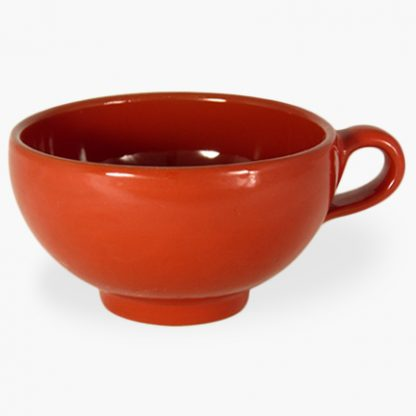 "Bowl with Handle, 5¼"" (2 cup) - Spanish Red"