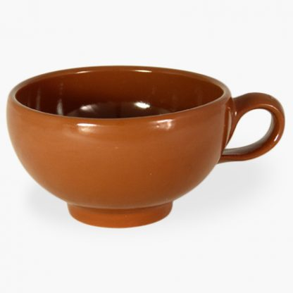 "Bowl with Handle, 5¼"" (2 cup) - Spanish Terra Cotta"