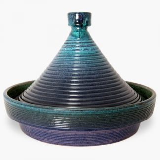 Bram 1¾ quart Tagine - Blue and Turquoise