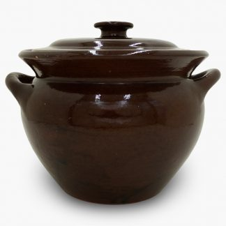 Bram Bean Pot - Soup/Stew Pot, 4½ qt. – Mocha Brown