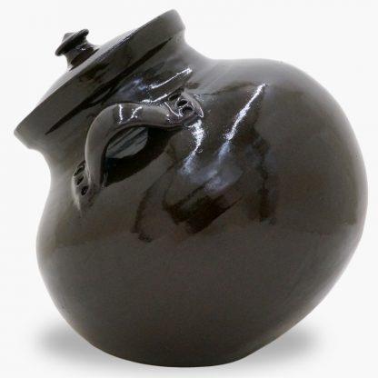 Bram 6 quart Bean Pot, Dark Mocha - Ball