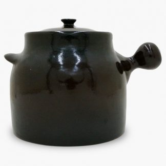 Bram Bean Pot - Soup/Stew Pot, 8½ qt. – Dark Brown & Black