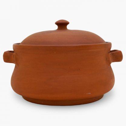 Bram Bean Pot - Soup/Stew Pot, 4 qt. – Terra Cotta, Glazed Inside
