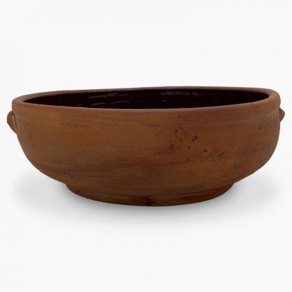 7 quart Bram - Terra Cotta, Glazed Inside