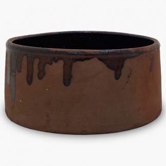 3 qt. Bram - Terra Cotta, Glazed Inside